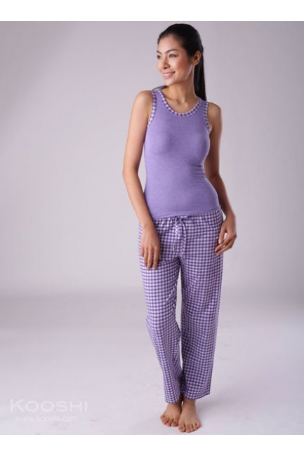 Tracy PJ Set Purple
