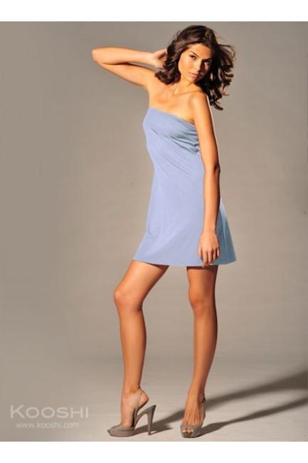 Lilian Tube Dress Baby Blue