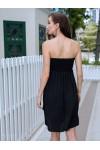 Meagan Multi-way Tube Dress Black