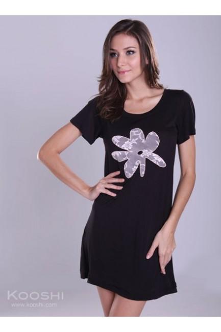 Debra T-Dress Black