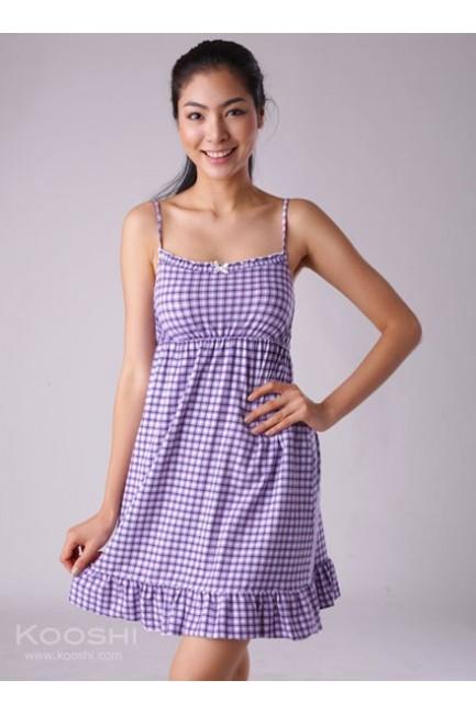 Trelin Dress Purple