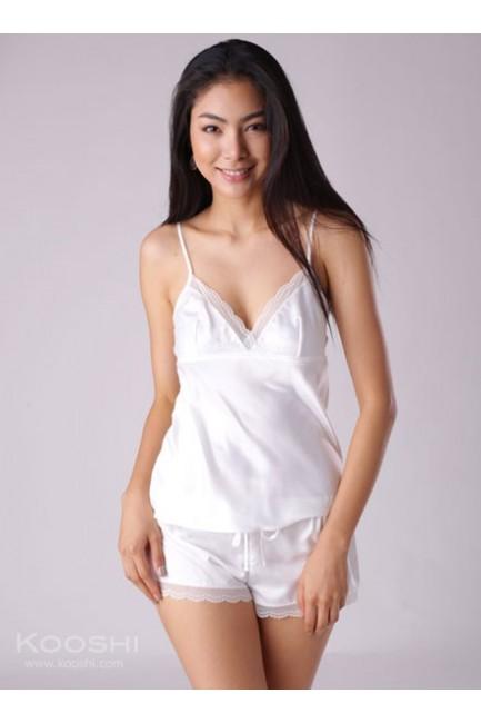 Vivyan Cami Set White