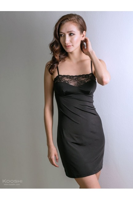 Silr Dress Black