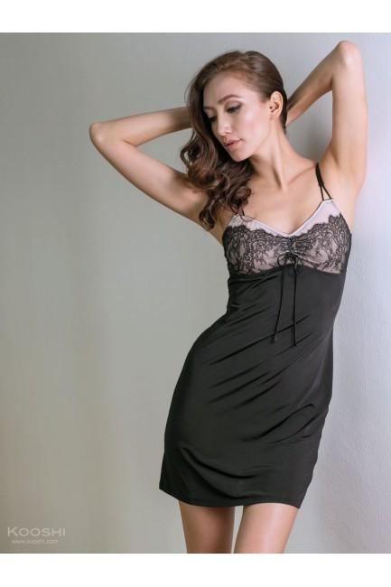 Serafina Dress Black