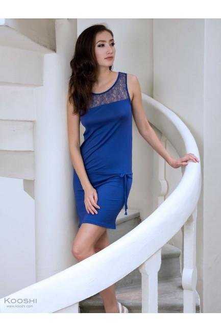 Elena Dress Blue