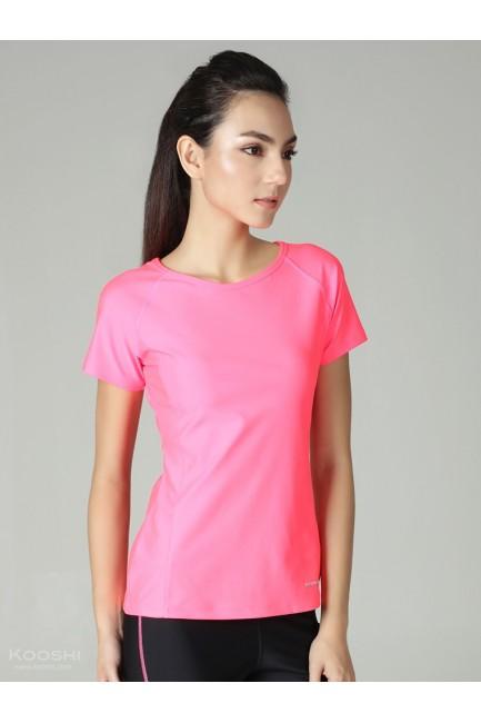 Monochrome Miele Sports Top Fluorescent Pink