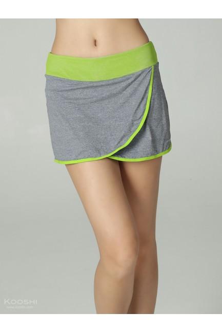 Harmony Eoile Skort Grey/Lime