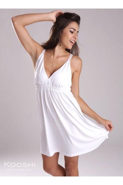 Faye Dress White