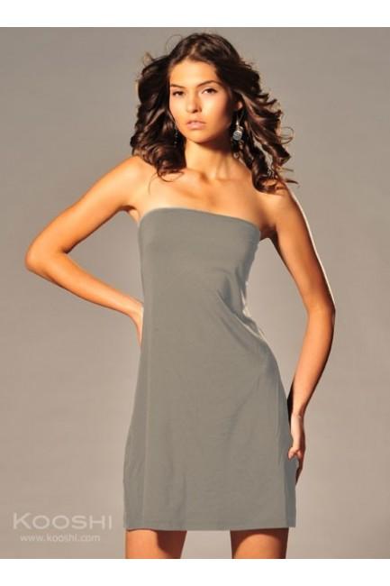Lilian Tube Dress Grey