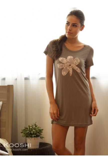Debra T-Dress Olive