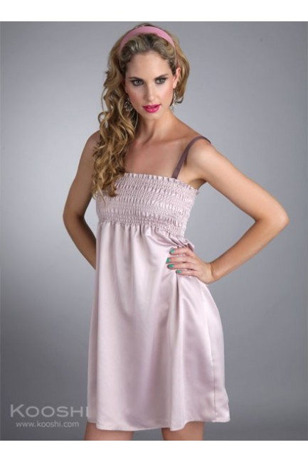 Clemmi Dress Nude