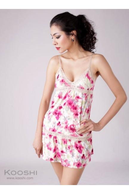 Hilda Dress Pink Print