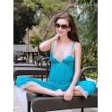 Adriana PJ Set Turquoise
