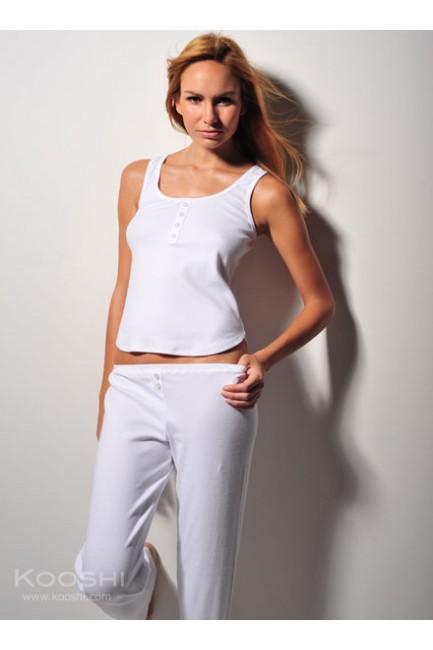 Beatty Pants White