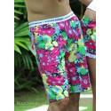 Garden Boxer Shorts Navy Floral