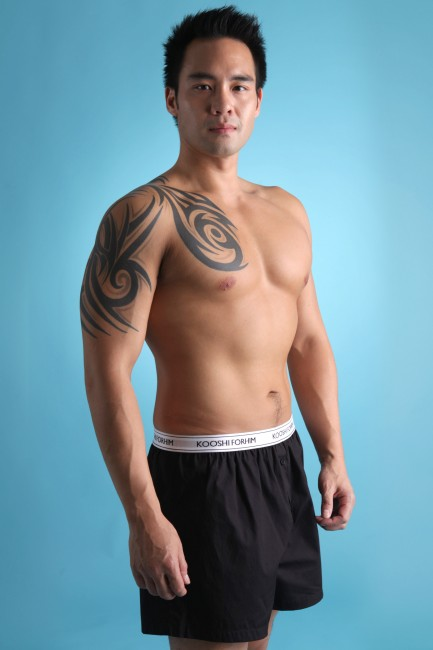 Jasper Boxer Shorts Black